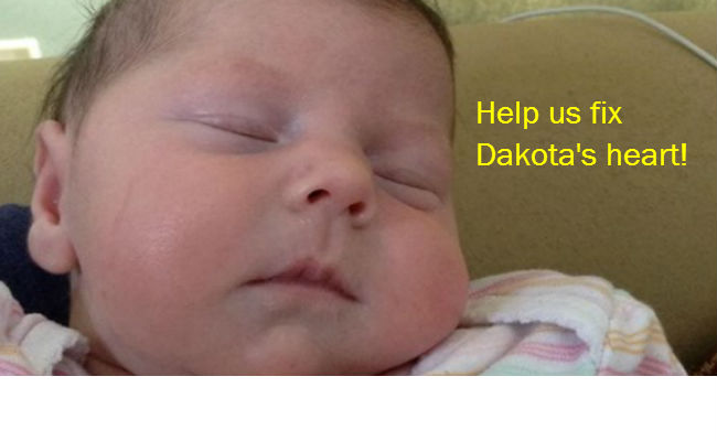 PASS IT ON: Please help us fix Dakota\'s heart